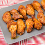Baked Smoked Paprika Chicken Wings