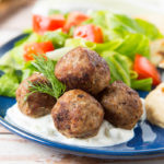 Beef and Lamb Gyro Meatballs