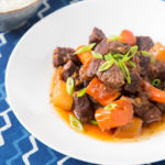 Braised Short Ribs with Daikon and Carrot (Pressure Cooker)